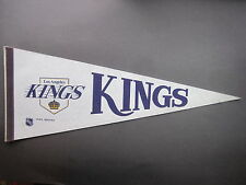 LATE 1970'S LOS ANGELES KINGS NHL HOCKEY PENNANT FLAG NICE!!