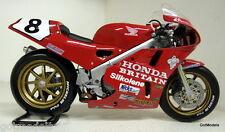 Uh 1/12 escala UH4822 Honda RC30 Isla de Man TT Carl Fogarty Diecast Modelo Bicicleta