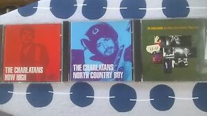 3 x Charlatans CDs Single collection Just when you how high north country boy