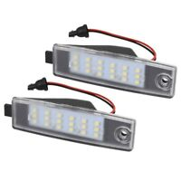 2X(White Led Number License Plate Light Replacement For Toyota Hiace Hi-Ace4C7)