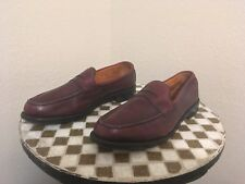 OXBLOOD RANDOLF ALLEN EDMONDS USA BUSINESS CASUAL SHOES 9 D