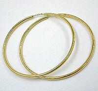 ECHT GOLD *** Große Creolen Ohrringe 40 mm