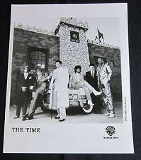 THE TIME 'ICE CREAM CASTLE' 1984 PUBLICITY PHOTO