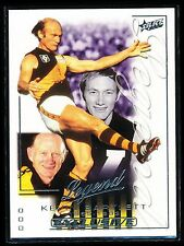 2002 Select Exclusive Legend Kevin Bartlett Richmond Tigers LC1