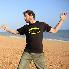 Kiteman Batman themed Kite surfing Kite boarding T-shirt