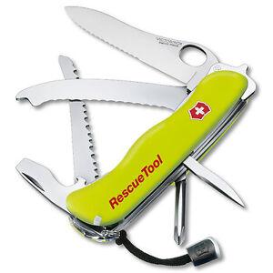 Victorinox Swiss Army Knife Rescue Tool - Fluoro Yellow - Free Shipping