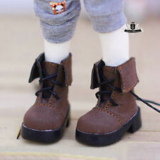 1/6 BJD Shoes Yosd Dollfie brown Nubuck leather Boots Shoes Dollmore AOD DIM DOD
