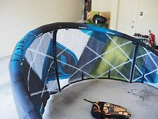 2014 Airush Varial X 7 meter kitesurfing kite barely used with bar and pump