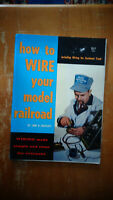 How to Wire Your Model Railroad by Linn Westcott (1959, Paperback)