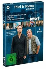 TATORT - TATORT-THIEL &BOERNE ERMITTELN-DIE FOLGEN VON 2017  2 DVD NEU