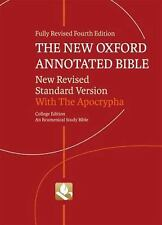 The New Oxford Annotated Bible with Apocrypha: New Revised Standard Version, E..