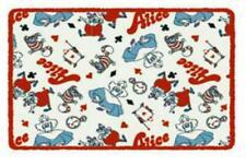 New Disney Japan Alice in Wonderland Personal Plush Small Throw Blanket