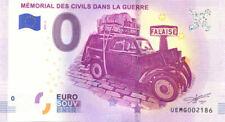 14 FALAISE Mémorial des Civils dans la Guerre 2, 2019, Billet 0 € Souvenir
