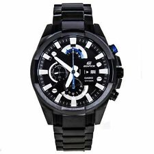 Import Casio Edifice EFR-540BK Black dial chronograph mens watch