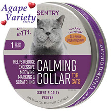 Sentry Behavior and Calming Collar for Cats, 1Ct 1-Count, Purple