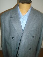 Jack Spade Kempton Wool Blend Charcoal Gray Herringbone Topcoat NWT 46 $998