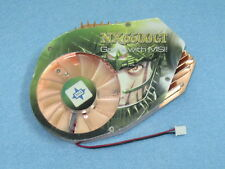 New MSI NX6600GT-VTD128 VGA Video Card Cooler Cooling Fan Heatsink 80mm 2Pin F02