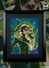 Sideshow Marvel Hela Goddess of the Death Art Print by Ozone - Olivia de Berard