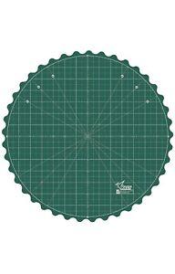 "14"" Rotating Rotary Turntable Cutting Mat Self Healing Sewing Board Craft Tool"