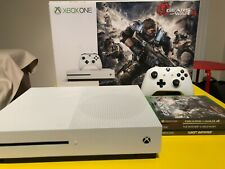 Microsoft Xbox One S 1TB White Console Bundle with 3 Games