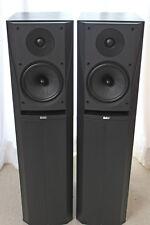 1 Paar Bowers & Wilkins B&W DM305 Lautsprecher Boxen schwarz gut erhalten satter