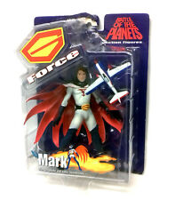 "Battle of the Planets G Force unmasked exclusive 6"" figure BOX DAMAGED VERY RARE"