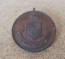 Halifax Council Secondary Schools sports medal 1912 50 Yd Any Stroke H Snoxell