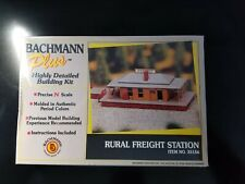 BACHMANN PLUS RURAL FREIGHT STATION N SCALE PLASTIC MODEL KIT