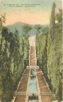El Fureides Montecito Residence Santa Barbara California 1920s Postcard 8515