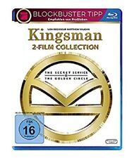 Kingsman Teil 1+2 Blu-ray Collection NEU OVP