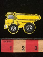 Patch YELLOW DUMP TRUCK ~ Appliqué Style 68WO