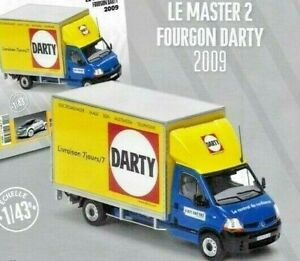 Truck Renault Master 2 Fourgon Darty 2009  1/43  New in box adversiting
