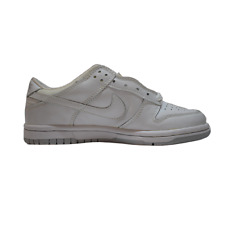 NIKE DUNK LOW (PS) WHITE/GREY SIZE 2Y (305044 111)