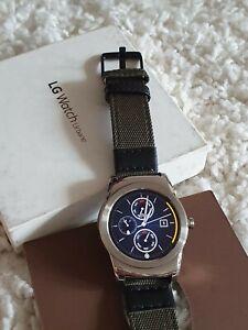 LG GW150.AGBRSV Urbane Stainless Steel Smartwatch 33mm