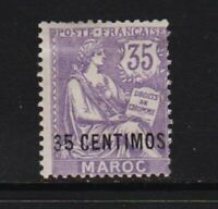 French Morocco - #19 mint, cat. $ 40.00