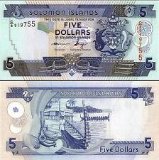 SALOMONE ISOLE - Solomon Islands 5 dollars 2012 FDS UNC