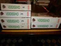 GG LIBRO: VERDISSIMO 5 VOLUMI DE AGOSTINI - COLLEZIONE COMPLETA