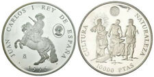 ESPAÑA: 10000 pesetas 1995 proof CINCUENTIN II Serie Cultura y Naturaleza