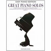 Great Piano Solos - The Purple Book (Easy Piano Edition) - Sheet Music, New,  Bo