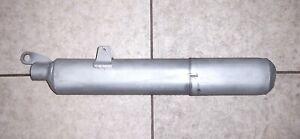 """70s VINTAGE J&R/ANSWER #KS-650 23.5"""" SPARK ARRESTER for BIG BORE VMX, EX (Ø26)"""