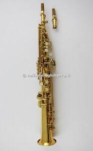 Grassi sax soprano dritto SP800 Laccato