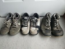 LOT of 3 Pairs Of NIKE shoes - FOR PARTS OR REPAIR - Men US Size 10.5 & 11.5
