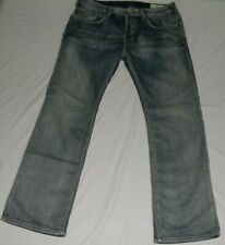 BUFFALO DAVID BITTON SIX Men's Jeans W 34 L 30 Slim BUTTON Close CHARITY