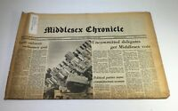 Middlesex Chronicle: June 10 1976 Uncommited Delegates Get Middlesex Vote