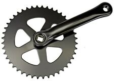 Sunlite Single Speed Crankset, 170 x 44t, Black