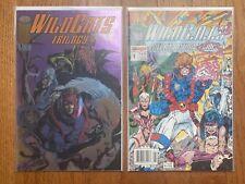 WILDCATS 1 (Image Comics) Newsstand Variant + Wildcats Trilogy 1st Grifter VF+
