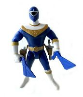 Blue Zeo Ranger III Vintage Power Rangers Action Figure Complete 1996 Bandai 90s