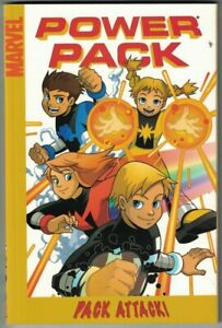 POWER PACK PACK ATTACK Digest Marc Sumerak All ages 2005 NEW NM