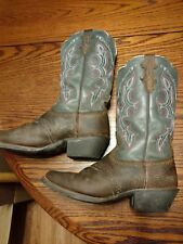Justin Stiefel Square Toe Med 2 (1 in. to 2 Med 3 4 in.) Stiefel for Damens     7c02e0