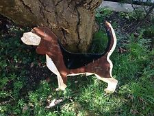 Beagle Dog Scrap Metal Art - Handmade - Recycled  Upcycled - Memorial Art or Cat
